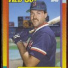 TOM BRUNANSKY 1990 Topps Traded #15T.  RED SOX