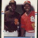 VINCE COLEMAN 1988 Fleer #634 w/ Tony Gwynn.  CARDS