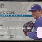 DAVID CONE 1995 Studio #33.  BLUE JAYS
