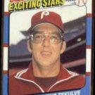 KENT TEKULVE 1987 Fleer Exciting Stars Odd #42 of 44.  PHILLIES