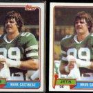 MARK GASTINEAU (2) 1981 Topps #342.  JETS
