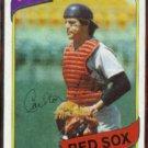 CARLTON FISK 1980 Topps #40.  RED SOX