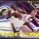 ALLEN IVERSON 1997 Skybox Reebok Rookie Insert N#OB.  76ers