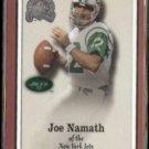 JOE NAMATH 2000 Fleer Greats #30.  JETS