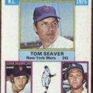 TOM SEAVER 1976 Topps KO Leaders #203.  METS