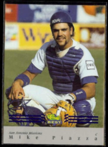 MIKE PIAZZA 1992 Classic Best BC Insert #BC16.  MISSIONS