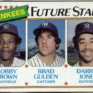 1980 Topps YANKEES Future Stars #670 w/ Bobby Brown