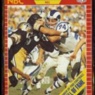MERLIN OLSEN 1989 Pro Set Announcer #27.  HOF