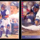 MIKE PIAZZA 1993 Flair #75 + 1993 Upper Deck SP #98.  DODGERS