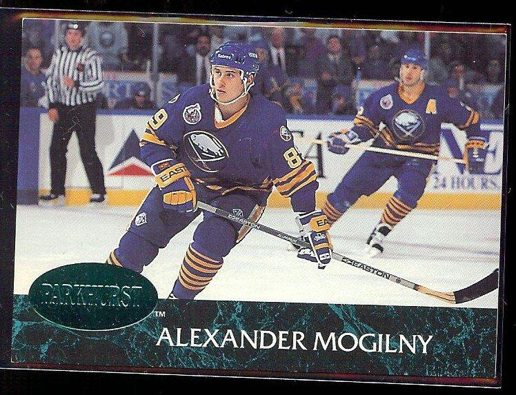 ALEXANDER MOGILNY 1992 Parkhurst Emerald Ice Insert #13.  SABRES