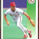 TODD ZEILE 1992 Score #52.  CARDS