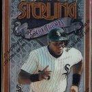 FRANK THOMAS 1996 Topps Finest Sterling #48. WHITE SOX