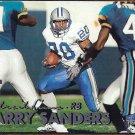 BARRY SANDERS 1999 Fleer Tradition #3.  LIONS