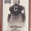 JIM THORPE 2000 Fleer Greats #81.  CANTON BULLDOGS
