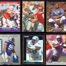 CORTEZ KENNEDY (6) Card Lot w/ Rookie.  SEAHAWKS