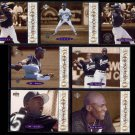 MICHAEL JORDAN (7) Card 1995 UD MJ Retires One on One Insert Lot.  BARONS