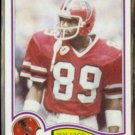 WALLACE FRANCIS 1982 Topps #278.  FALCONS