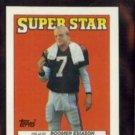BOOMER ESIASON 1988 Topps Super Star mini #56 of 67.  BENGALS