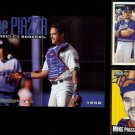 MIKe PIAZZA 1998 Fleer SI Poster Insert + (2) 1994.  DODGERS