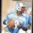 STEVE McNAIR 1995 Action Packed Rookie & Stars #101.  OILERS