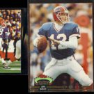 JIM KELLY 1993 SC #75 + 1992 SC #640 + Members Choice #605.  BILLS