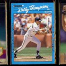 ROBBY THOMPSON (3) Card Lot (1990, 1994 + 1996).  GIANTS