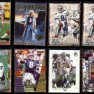 TROY AIKMAN (8) Card Lot (1993 - 2000).  COWBOYS