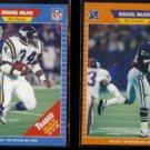 HERSCHEL WALKER 1989 Pro Set Traded #561 + #96.  VIKINGS / COWBOYS