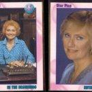 AGNES ECKHARDT NIXON (Ruth Martin) 1991 Star Pics #1 + #5.  ALL MY CHILDREN - Glossy