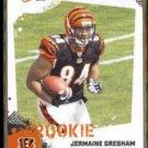 JERMAINE GRESHAM 2010 Score Rookie #353.  BENGALS