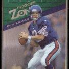 ERIK KRAMER 1997 Playoff Zone #20.  BEARS