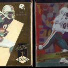 O.J. McDUFFIE 1993 Action Packed 1st Round + 1993 Wild Card ChromeIE .  DOLPHINS