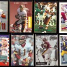 MARK RYPIEN (8) Card Lot (1990 - 1995)  REDSKINS / RAMS