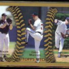 KERRY WOOD 1999 All Topps Pitchers #460 w/ Clemens + Maddux.  CUBS