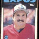 WAYNE KRENCHICKI 1986 Topps Traded #55T.  EXPOS