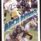 DEION SANDERS 1991 Upper Deck Arch Rivals w/ V. Glenn #678.  FALCONS