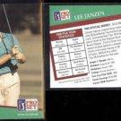 LEE JANZEN (2) 1991 Pro Set PGA #111.