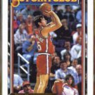 KIKI VANDEWEGHE 1992 Topps GOLD 50 Point Club Insert #203.  CLIPPERS