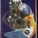 TERRELL DAVIS 1999 Edge Millennium Third Quarter #175.  BRONCOS