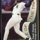 FRANK THOMAS 1998 Fleer Tradition Tale of the Tape #337.  WHITE SOX