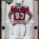 CALAIS CAMPBELL 2008 Leaf Limited Phenom #'d Insert 65/99.  CARDS