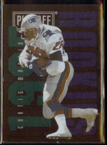 CURTIS MARTIN 1995 Playoff #139.  PATRIOTS