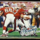 STEVE YOUNG 1998 Ultra #194.  49ers