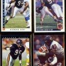 RICHARD DENT (4) Card Lot (1992 + 1993).  BEARS