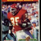 CHRISTIAN OKOYE 1990 Pro Set JBC Collect-A-Book.  CHIEFS