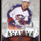 GRANT CLITSOME 2010 Upper Deck SP Game Used RC #'d Insert 574/699.  BLUE JACKETS