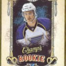 ALEX PIETRANGELO 2008 Upper Deck Champs Rookie #189.  BLUES