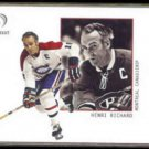 HENRI RICHARD 2002 Fleer Legacy #15.  CANADIENS