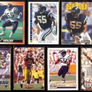 JUNIOR SEAU (7) Card Lot (1991 - 1993)  CHARGERS