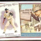 MARIANO RIVERA 2010 Allen & Ginter's This Day In History Insert #TDH75.  YANKEES